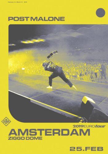 POST MALONE Beerbongs /& Bentleys PHOTO Print POSTER 2019 World Tour Stoney Shirt
