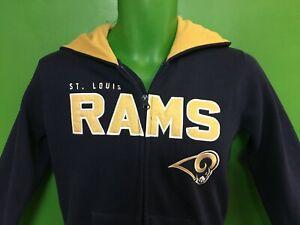 W337-475-NFL-St-Louis-Rams-Full-Zip-Hoodie-Youth-Medium-10-12-NWT