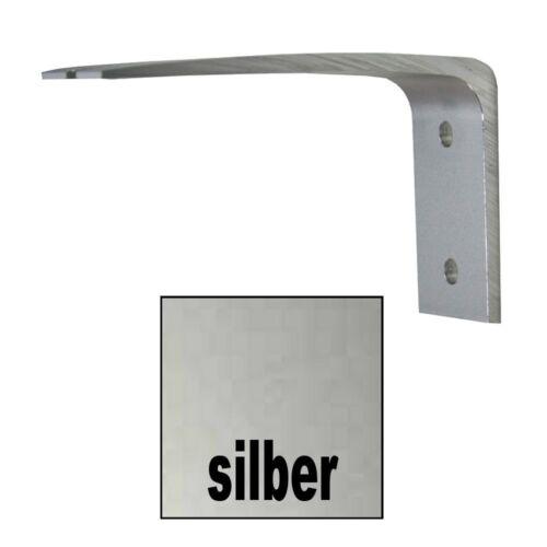 Wandhalter Träger für Aluminiumschienen vestellbar in 2 Farben