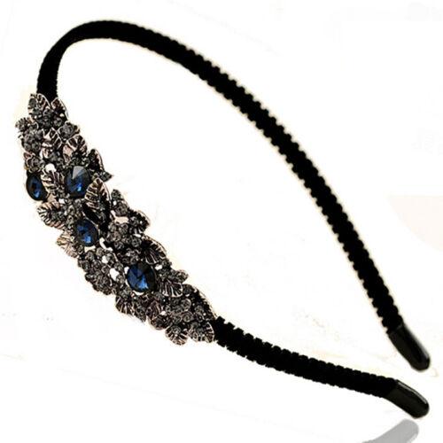 Bridal Wedding Crystal Rhinestone Flower Hair Band Clip Headband Jian