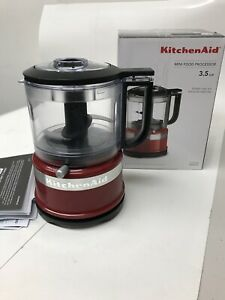 KitchenAid-Queen-Of-Hearts-3-5-Cup-Mini-Chopper-in-Red-New-open-box