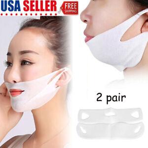 2PCS-Miracle-V-Shaped-Slimming-Mask-Face-Care-Slimming-Mask-Small-face-artifact
