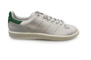 wholesale dealer 8d16d dba60 La imagen se está cargando Unisex-Adidas-Stan-Smith-BB0008-Blanco-Verde- Zapatillas