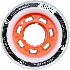 Atom-BOOM-Roller-Derby-wheels-59mm-x-38mm-X-SLIM-Orange-X-FIRM-set-of-4