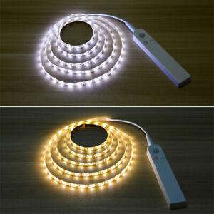 1 2 3 M Motion Sensor Led Light Strip Under Cabinet Lamp