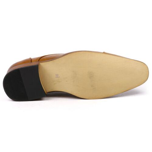 Men/'s Cap Toe Lace up Oxford Fashion Dress Shoes