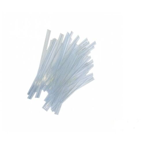 100 Attaches lien cello transparent fermeture manuelle sachet confiserie twist