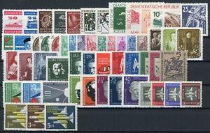 DDR-Jahrgang-1957-postfrisch-MNH-jede-MiNr-1x