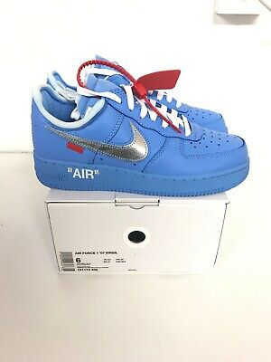 NIKE AIR FORCE 1 Low X Off White University Blue Mca EUR