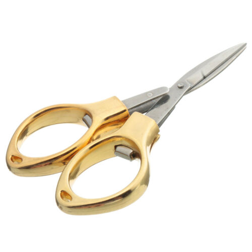 Folding Camping Stainless Steel Scissors Keychain Fishing Scissor Mini Cutter