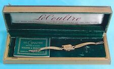 Vacheron & Constantin LeCoultre Vintage 14 K Gold Woman's Watch Wristwatch