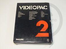 !!! PHILIPS G7000 SPIEL Videopac 2 OVP, gebraucht aber GUT !!!