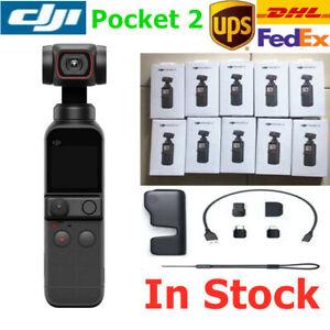 DJI Osmo Pocket 2 3-Axis gimbal stabilizer 4K Pocket camera 8x Zoom ActiveTrack