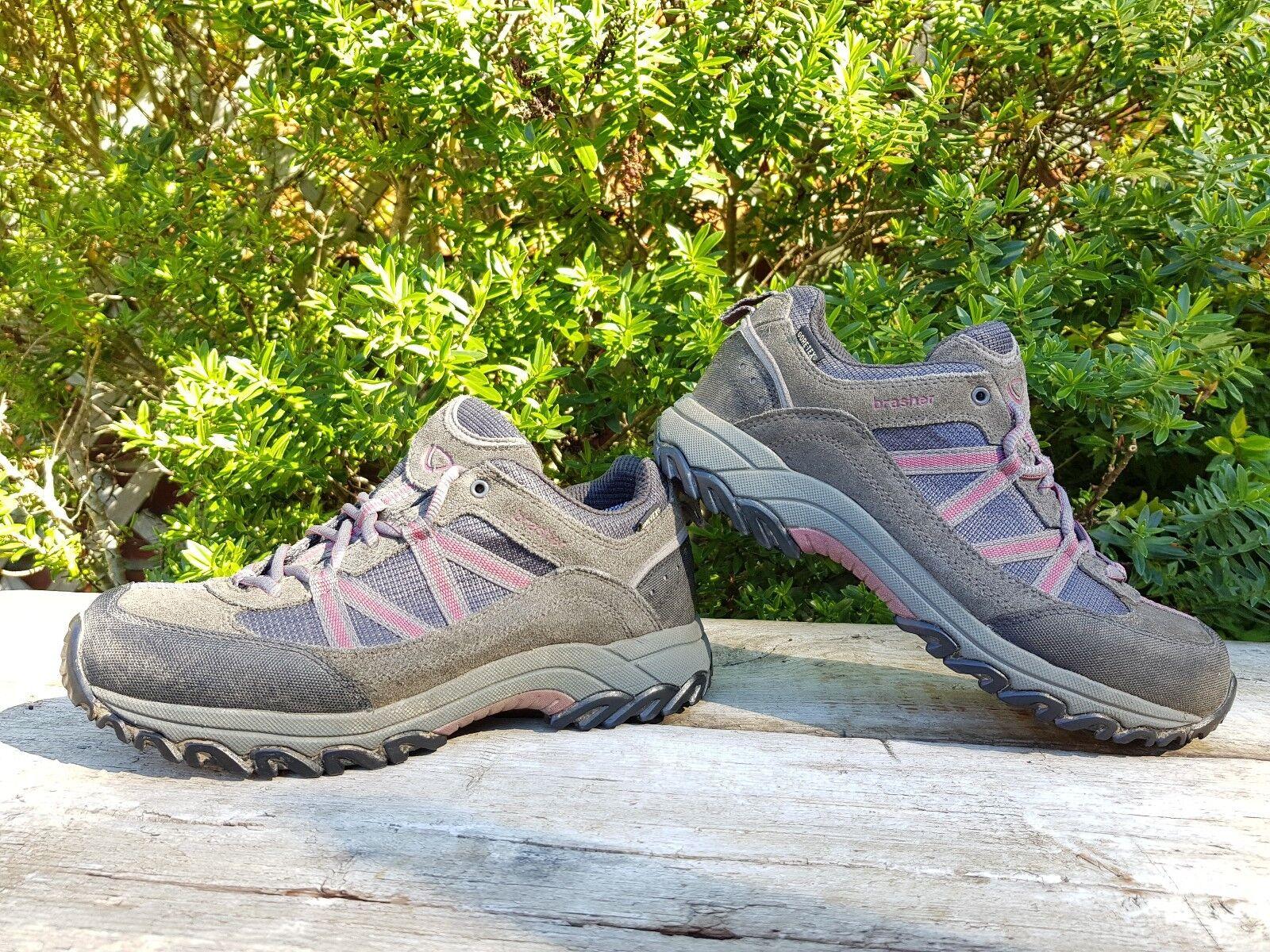 BRASHER ODIN GTX GORE-TEX  Women's Size UK6 UK6 UK6  Walking Hiking shoes Leather Vibram 815263