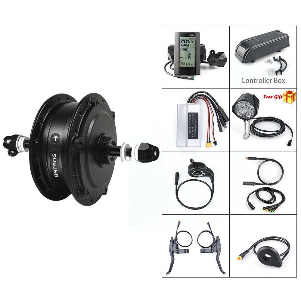 48V 500W Bafang Rear Hub Motor Conversion Kit for Electric Bike 20  26 27.5 700C