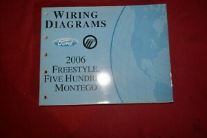 2006 Ford Freestyle Five Hundred Mercury Montego Wiring ...