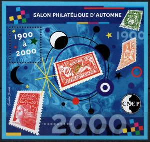Copieux Timbre France Bloc Cnep N°32 Neuf** Salon Philatélique D'automne A Paris Forme éLéGante