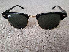 e63453ec6b item 6 Ray-Ban Clubmaster Classic Sunglasses RB3816 901 58 Black Gold  Polarized -Ray-Ban Clubmaster Classic Sunglasses RB3816 901 58 Black Gold  Polarized