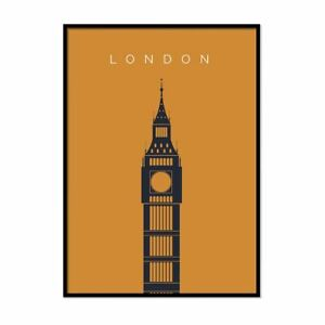 London-Print-Bigben-Landmark-Print-A1-A5-Decor-Travel-Artwork-Wall-Art