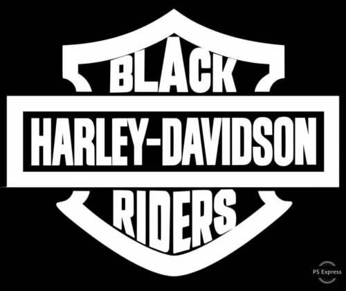 Black Harley Davidson Rider T-Shirt Tee Shirt