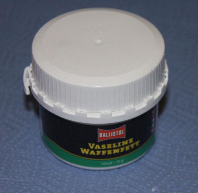 Ballistol Waffenfett Vaseline 70gr 23699 Langzeitfett Schmierfett Waffenpflege