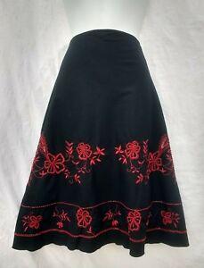 Dorothy-Perkins-skirt-14-black-red-embroidered-beaded-boho