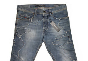 DIESEL-TEPPHAR-INLAY-0852P-CARROT-JEANS-W26-L32-100-AUTHENTIC