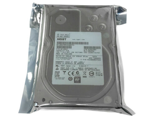 "HGST HUS724040ALE640 4TB 64MB Cache 7200RPM SATA 6Gb//s 3.5/"" Internal Hard Drive"