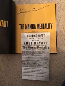 Kobe bryant mamba mentality book