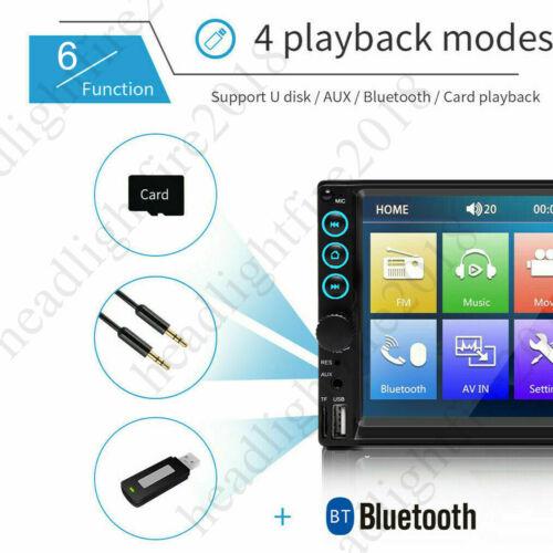 Car Radio 2Din Autoradio Stereo MP5 Player Multimidia Mirror-Naviga Rear Camera