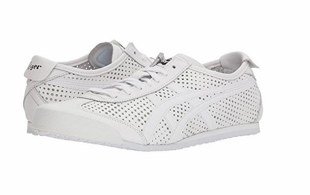 ONITSUKA ONITSUKA ONITSUKA TIGER D816L.0101 MEXICO 66 Mn′s (M) White/White Leather Lifestyle Shoes Scarpe classiche da uomo 0aba53