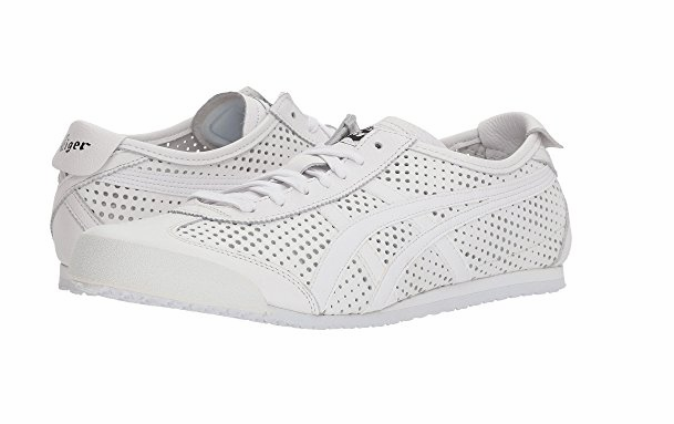 best service d1c46 770e0 ONITSUKA TIGER D816L.0101 MEXICO 66 Mn´s (M) White/White Leather Lifestyle  Shoes