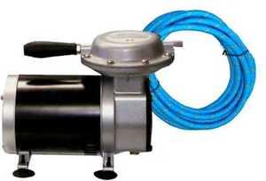 New 1 3 hp airbrush air compressor auto paint spray gun ebay for Car paint air compressor