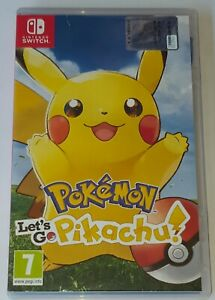 Pokemon-Let-039-s-Go-Pikachu-Come-Nuovo-Pal-ITA-x-Nintendo-Switch-amp-Lite