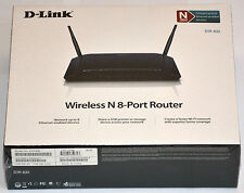 D-Link DIR-632 300Mbps 8-Port LAN WiFi Wireless N USB Broadband Router 2x Antena