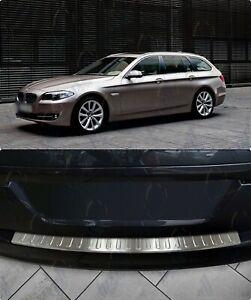 BMW-5ER-F11-TOURING-2010-2016-ChromeRear-Bumper-Protector-Scratch-Guard-S-Steel