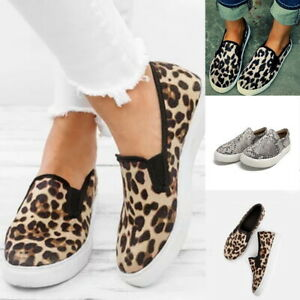Women-Casual-Comfort-Canvas-Shoes-Plimsolls-Flats-Slip-On-Loafers-Sneakers-Pump