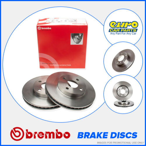 Brembo 08.9918.21 Rear Brake Discs 255mm Solid Audi A4 B6 B7 Seat Exeo ST