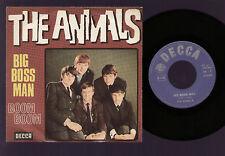 "7"" ERIC BURDON & THE ANIMALS BIG BOSS MAN / BOOM BOOM MADE IN ITALY DECCA 1966"