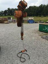 Harrington Es030s 3 Ton Electric Chain Hoist 10 Lift 208 V 3 Ph With Ms030