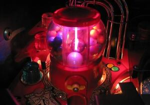 Twilight Zone Pinball Gumball light Mod