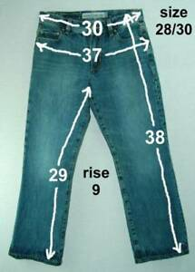 Classic-Rise-100-Cotton-AEROPOSTALE-Benton-Boot-Jeans-28-30