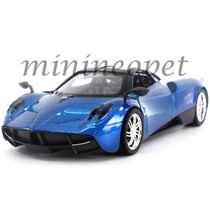 MOTORMAX-79312-PAGANI-HUAYRA-1-24-DIECAST-BLUE