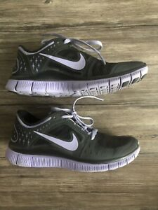 Womens Nike Free Run 3 Black Purple