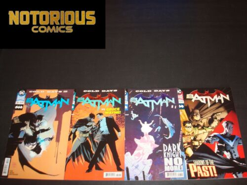 Batman 51 52 53 54 Complete Comic Lot Run Set Tom King DC Collection