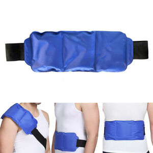 78a5d27463cb Details about Flexible Hot&Cold Therapy Gel Ice Pack Wrap for Back Shoulder  Leg Pain Relief
