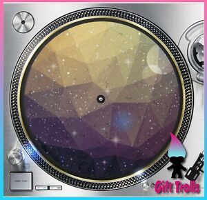 Geometric-Galaxy-1-Turntable-Slipmat-12-034-LP-Record-Player-DJ-Space-Orbit