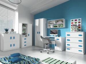 Extrem Jugendzimmer Calbe Ia Komplett Modern Design Möbel Schreibtisch LU31