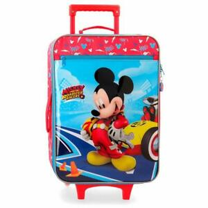 factory outlet buying cheap quality Dettagli su Trolley Topolino Mickey Mouse Disney Valigia per bambini 25  litri