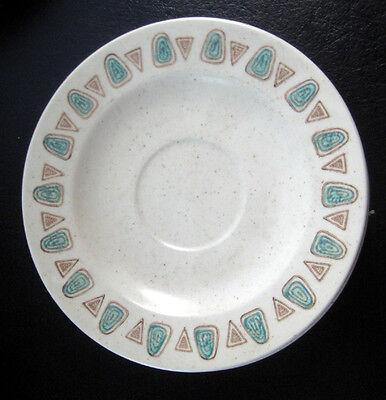 VTG MID CENTURY METLOX POPPYTRAIL NAVAJO California Pottery CUP /& SAUCER s EUC